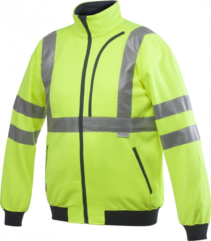 Projob 6103 Sweater High Vis. Klasse3 Geel