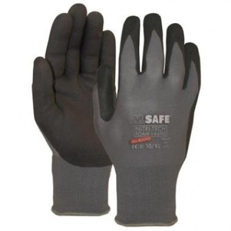 M-Safe Nitri-Tech Foam 14-690 (144 Paar)