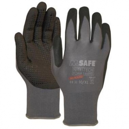 M-Safe Nitri-Tech Foam 14-695 (144 Paar)