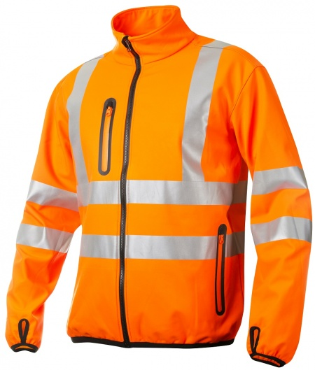 Projob 6412 Softshell Jas High Vis.